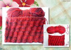Vem aprender mais um pontinho de tricot! http://miauartes.blogspot.com.br/