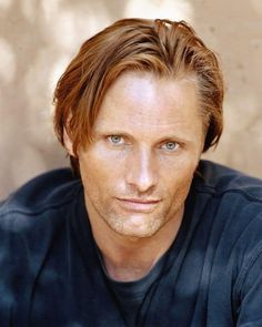 Viggo Mortensen (Laid-back/Relaxed Look) Viggo Mortensen, Hot Redhead Men, Chris Evans, Gorgeous Men, Beautiful People, Sean Penn, Hottest Redheads, New York, Famous Faces