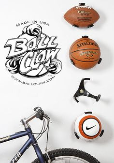 Ball Claw Basketball, Football, Soccer Ball Holder Available at Toys R Us in 2015!!