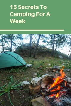 If you want to go camping for a week then read this article to prepare first. Diy Camping, Camping Survival, Camping Gear, Camping Hacks, Outdoor Camping, Camping Supplies, Ways To Travel, Make It Work, Helpful Hints