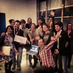 "@bingerfilmlab's photo: ""And that's a launch! #Cinecrowd #CineMart #IFFR"""
