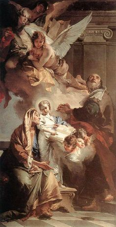 Education of the Virgin by Giovanni Battista Tiepolo - Hand Painted Oil Painting What's Art Baroque Painting, Baroque Art, Renaissance Kunst, Renaissance Paintings, Catholic Art, Religious Art, Religious Paintings, Aesthetic Painting, Aesthetic Art
