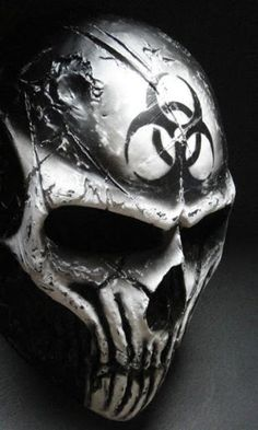 I found 'Coldbloodart Airsoft Paintball Mask - BioHazard Demon' on Wish, check it out! Mascara Oni, Paintball Mask, Airsoft Mask, Totenkopf Tattoos, Cool Masks, Creepy Masks, Skull Mask, Masks Art, Body Armor