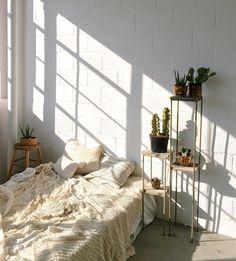 Apartment Goals — ig source : @ mieshphotography of @ mieshboudoir Design Room, Deco Design, House Design, Wall Design, Dream Bedroom, Home Bedroom, Bedroom Decor, Apartment Bedrooms, Bedroom Plants