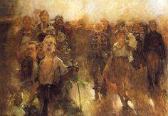 Hollosy, Simon (1857-1918) - 1899 The Rakoczi March (Hungarian National Gallery…