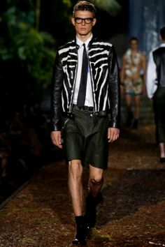 Love the jacket! Dsquared2 Menswear Spring Summer 2014 Milan - NOWFASHION