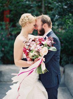 FEATURED!  http://www.stylemepretty.com/2015/01/12/modern-san-francisco-town-hall-wedding/