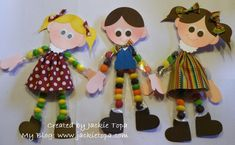 Candy Kids Punch Art - Jackie Topa