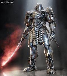 Silver Samurai from The Wolverine by Josh Nizzi