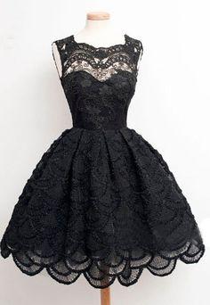 vintage black homecoming dresses, black womens prom dresses, 2016 prom dresses…