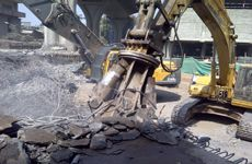 Plant Demolition in Mumbai India- Silos Chimney Cooling Towers Water Tanks Factory Building. Cooling Tower, Water Tank, Sheds, Towers, Tanks, Concrete, Buildings, Construction, House