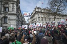 """Thousands of protesters have arrived in Central London calling for the resignation of prime minister David Cameron and tougher action on tax avoidance. Following the revelations about his tax affairs in the Panama papers, demonstrators are asking Mr Cameron to either """"close tax loopholes or..."""