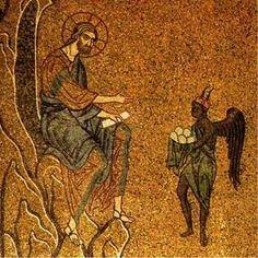 Resultado de imagen de tentaciones de jesús iCONOS