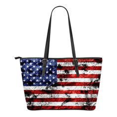 Now available on our store: USA Flag Small Le... Check it out here! http://nvr2lte2shop.com/products/usa-flag-small-leather-tote?utm_campaign=social_autopilot&utm_source=pin&utm_medium=pin