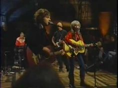 ▶ ryan adams. return of the grevious angel - more country than I tend to like, but still great...that highlighted hair is crazy