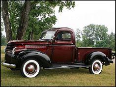 S19 1946 Chevrolet  Pickup 216 CI, 3-Speed Photo 8