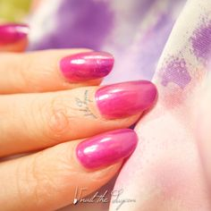 BYS - Deep Purple - Nail Swatch - http://nailtheday.com/2015/07/bys-deep-purple-nail-swatch/