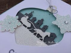Megumi's Stampin Retreat: Sleigh Ride Edgelits Ornament Card