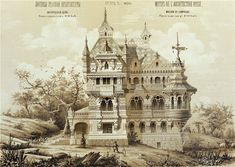 motifs of ancient Russian architecture  (Exposition Universelle,Paris 1878 )