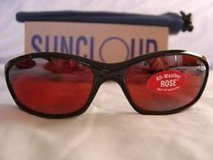 SUNCLOUD SCR ROSE Espresso Vintage Sunglass GLASS lens.. BRAND NEW WITH TAGS!!! - $245.00 - http://www.12pmsunglasses.com/on-sale/Vintage-SUNCLOUD-SCR-sunglasses.html