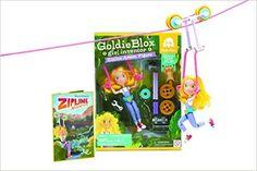 Goldie Blox Action Figure w/ Zipline: Amazon.co.uk: Goldieblox: 0029882883174: Books