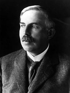 Ernest Rutherford was a scientist who worked in Cambridge, studying physics. He was the first to split the atom. His work would eventually lead to the Manhattan Project, but also to the many Nuclear power stations around the world.