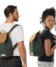SOLSTICE pine | Fitz & Huxley Fitz Huxley, Unisex, Leather Backpack, Pine, Laptop, Backpacks, Bags, Fashion, Minimalist Design