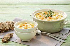 Bio-Rezept: Süßkartoffel-Linsen-Suppe mit Kokosmilch - RAPUNZEL NATURKOST