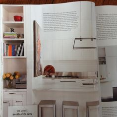 home beautiful magazine August 2916, joinery design by Fiona Austin