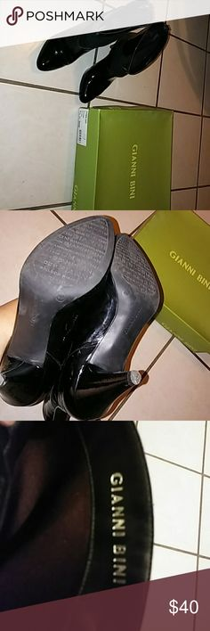 Gianni Bini boots Patent leather Gianni Bini pull on boots size 8. Very cute and comfortable with no dust bag but have the original box. True to size. Worn 8 times These were a gift. Smoke free and pet free home. Gianni Bini Shoes Ankle Boots & Booties