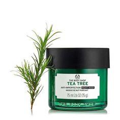 The Body Shop, Body Shop Tea Tree, Tea Tree Oil Uses, Tea Tree Oil For Acne, Oils For Scars, Oils For Skin, Melaleuca, Huile Tea Tree, Aloe