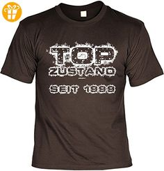 TOP ZUSTAND seit 1999 Herren T-Shirt zum 18. Geburtstag Geschenke 18. Geburtstag Sprüche Shirt Männer 18 Jahre bedruckt Geburtstagsgeschenk für Ihn mit Geburtsjahr 1999 Gr: S : ) - T-Shirts mit Spruch | Lustige und coole T-Shirts | Funny T-Shirts (*Partner-Link)