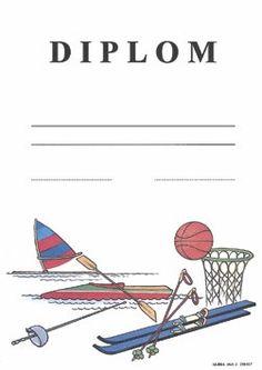 diplom-sportovni-hry-format-a4-karton-silny Tv, Catalog, Paper Board, Television Set, Television