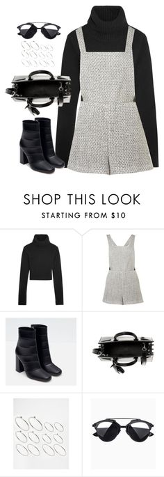 """Untitled#4270"" by fashionnfacts ❤ liked on Polyvore featuring Michael Kors, Topshop, Zara, Yves Saint Laurent and ASOS"