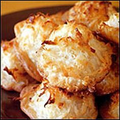 Coconut Macaroon Recipe, Low Carb, Gluten Free, Stevia Sweetened Cookie Recipes