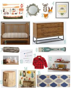 Rustic Nursery Themes | Camp Themed Nursery - Rustic Baby Chic