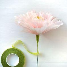 Faire des fleurs en papier de soi