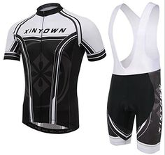 Unisex Outdoor Cycling Strap Riding Sports Bib Jerseys Suit Short Sleeve XXXL White Bib -- Check out this great product.Note:It is affiliate link to Amazon.