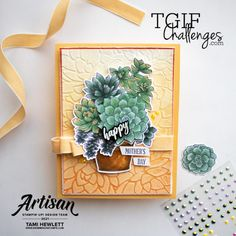 #TGIFC314 — Oh My Ombre' | Swimming In Stamps