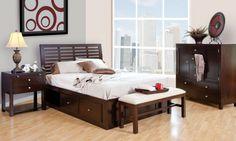 The Park Avenue Collection – Platform Bed Suite