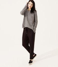 Image of Lou & Grey Signaturesoft Pants color Black