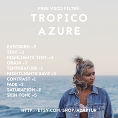 FREE VSCO FILTERS