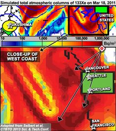 """Fukushima plume model shows 1 Million Bq/m2 over West Coast after reactor explosions — TV: Private emails reveal highest levels of gov't worried about health impact in US — Nuclear industry tried to bury truth, while UC Berkeley experts told public """"there is no plume"""" (VIDEO)"""