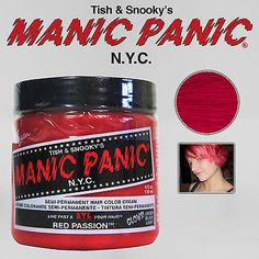 #Priceabate MANIC PANIC Classic Semi-Permanent VEGAN Hair Dye Color ALL COLORS 4 Oz NEW - Buy This Item Now For Only: $10.6