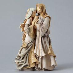 Enesco Foundations 4047697 Holy Family Masterpiece