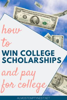 How to Win College Scholarships and Pay for College: Win Scholarships for college 2020. How to write scholarship thank you letters. Get scholarship essay tips and scholarship essay examples. #almostemptynest #collegescholarship #scholarship Apply For College, College Fun, College Life, College Board, College Hacks, College Admission Essay, College Essay, Essay Tips, Essay Writing Tips