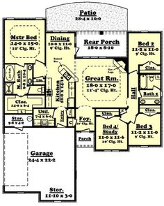 Great house layout....not that we have any plans to build a house....