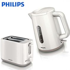 Philips Kettle and 2 Slice Toaster