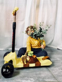 This DIY scooter is a very nice gift for toddler 👆👆