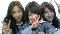Tomomi Itano (Tomochin), Atsuko Maeda (Acchan) & Takahashi Minami (Takamina)